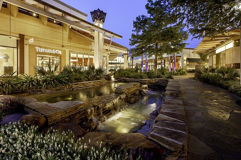 The Shops at La Cantera Shopping Mall in San Antonio TX